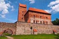 Free Medieval Trakai Castle Near Vilnius, Lithuania. Royalty Free Stock Photography - 35548577