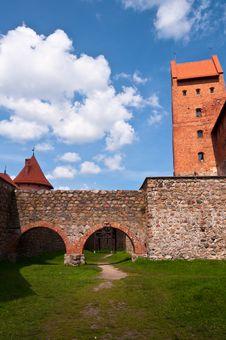 Free Medieval Trakai Castle Near Vilnius, Lithuania. Stock Photo - 35548580