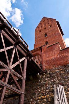 Free Medieval Trakai Castle Near Vilnius, Lithuania. Stock Photos - 35548663