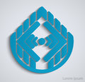 Free Abstract Geometric Business Sign. Royalty Free Stock Photography - 35550617