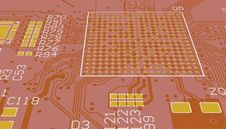 Free PCB Red Stock Images - 35558684