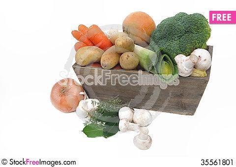 Free Seasonal Vegetables Stock Image - 35561801