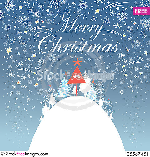 Free New Year Greeting Card Stock Image - 35567451