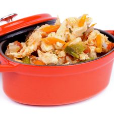 Chicken Stew Stock Photography