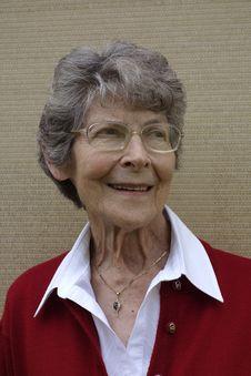 Free Elderly Woman Royalty Free Stock Photo - 35563445
