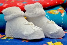 Free Baby S Bootees Stock Image - 35564161