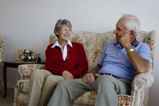 Free Elderly Couple Stock Image - 35564271