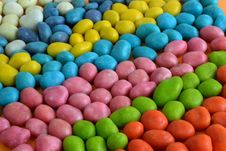 Free Multi-colored Candies  Background Stock Photos - 35565183
