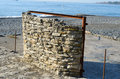 Free Stone Wall On The Beach Stock Images - 35576734