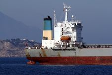 General Cargo Vessel: Aft Zone Stock Image