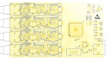 Free Device PCB Yellow Royalty Free Stock Image - 35570616