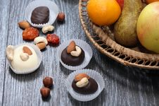 Free Sweets And Fruits Stock Photo - 35572790