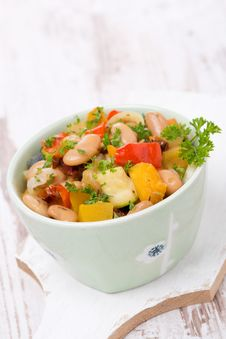 Free Vegetable Stew With Beans, Vertical Royalty Free Stock Photography - 35574307