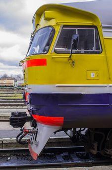 Intercity Express Train Stock Photo