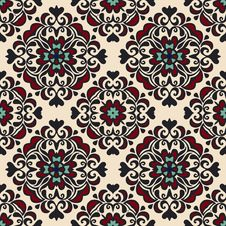 Free Seamless Ethnic Pattern Gift Wrap Stock Photography - 35575512