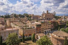 Free View From The Roman Forum Stock Image - 35579871