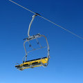 Free Cableway On The Blue Sky Stock Image - 35583651