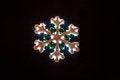 Free Lit Christmas Snowflake Stock Images - 35588154