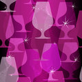 Free Christmas Purple Seamless Pattern Stock Image - 35596261