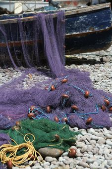 Free Domincan Fishing Nets Stock Photos - 35594523