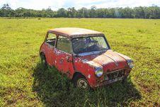 Free Abandoned Mini-Minor Royalty Free Stock Photo - 35596545