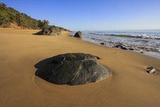 Free Tropical Beach Early Morning Stock Photos - 35599353