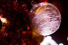 Free Christmas Ball Stock Photography - 35599952
