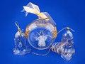 Free A Glass Angel Inside Bulb Royalty Free Stock Photo - 3561505