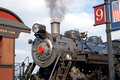 Free Steam Train Engine At Station Royalty Free Stock Photography - 3564127