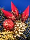 Free Red Christmas Bulbs Royalty Free Stock Image - 3569436