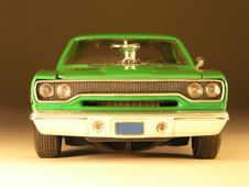 Free Plastic Model Of A Muscle Car Stock Image - 3560001