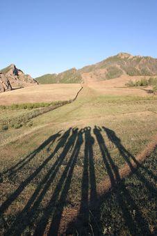 Free Teamwork In Trekking Stock Images - 3560304