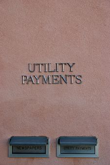 Free Utility Payments Stock Photo - 3561220