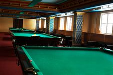 Free Billiard Tables Stock Photos - 3562863