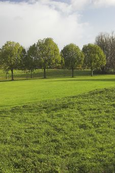 Free Golf Course Royalty Free Stock Photo - 3563135