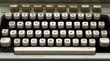 Free Old Typewriter Stock Photo - 3563390