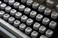 Free Old Typewriter Royalty Free Stock Photos - 3563398