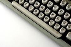 Free Old Typewriter Stock Image - 3563461