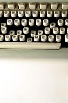 Free Old Typewriter Royalty Free Stock Photography - 3563477