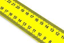 Free Measurement Of A Diagonal. Stock Photos - 3565943