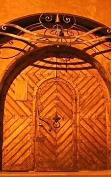 Free Ancient Door Royalty Free Stock Photos - 3566088