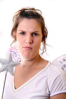 Free Grumpy Fairy Stock Image - 3566361