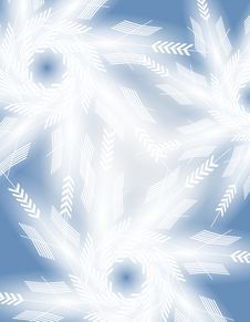 Winter Snowflake Background 2 Royalty Free Stock Image
