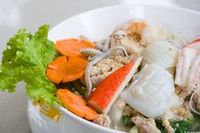 Free Thai Seafood Noodle Stock Photos - 3568773