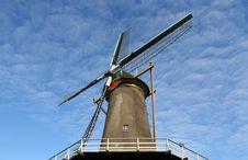 Free Traditional Dutch Windmill Stock Image - 3569111