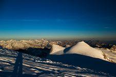 Panorama Of Rainerhorn Royalty Free Stock Images