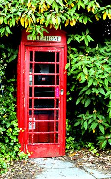 Telephone Box Royalty Free Stock Image