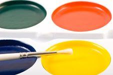 Free Paint Brush Royalty Free Stock Image - 3569886