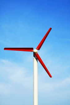 Free Wind Turbine Royalty Free Stock Image - 35600296