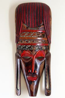 Free African Mask Royalty Free Stock Photos - 35600328